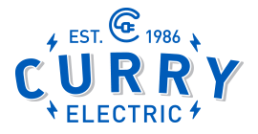 curry electric logo